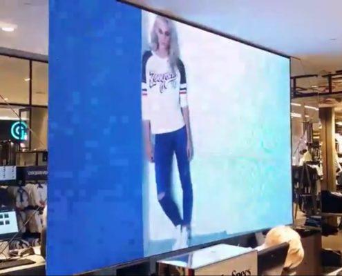 внутренний медиаэкран в торговом центре в киеве