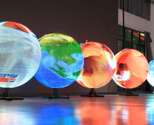 светодиодный экран Глобус