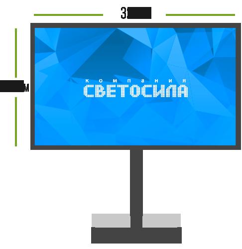 LED экран Миди