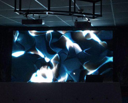 презентационных экран