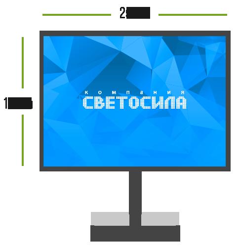 LED экран Мини